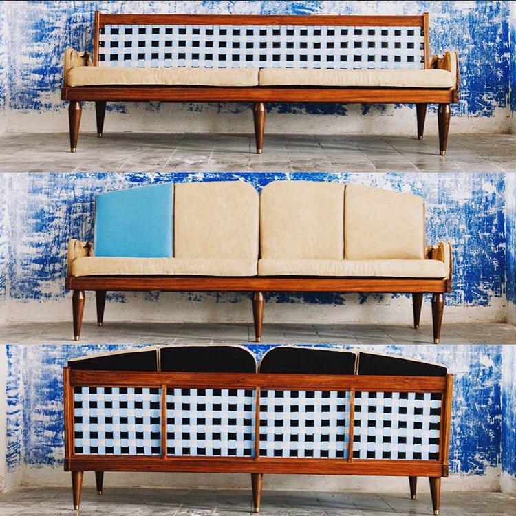 Germano Marchetti - Mobiliario sofá